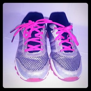 Danskin Now Silver Glitter And Pink Size 5